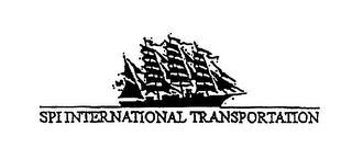 SPI INTERNATIONAL TRANSPORTATION trademark