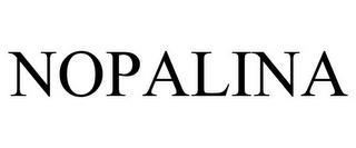 NOPALINA trademark