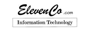 ELEVENCO.COM INFORMATION TECHNOLOGY trademark