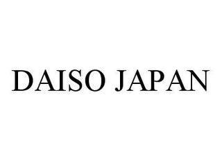DAISO JAPAN trademark