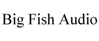 BIG FISH AUDIO trademark