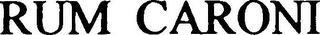 RUM CARONI trademark