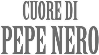 CUORE DI PEPE NERO trademark
