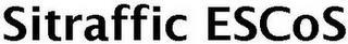 SITRAFFIC ESCOS trademark