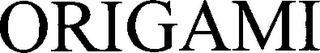 ORIGAMI trademark
