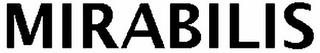 MIRABILIS trademark