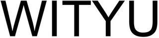 WITYU trademark