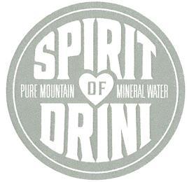 SPIRIT OF DRINI PURE MOUNTAIN MINERAL WATER trademark