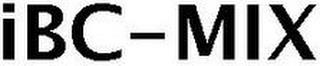 IBC-MIX trademark