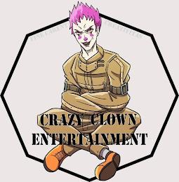 CRAZY CLOWN ENTERTAINMENT FINE CARENT CREATIVITAS trademark