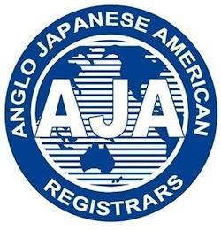 AJA ANGLO JAPANESE AMERICAN REGISTRARS trademark