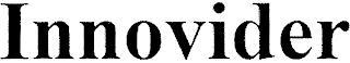 INNOVIDER trademark