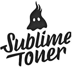SUBLIME TONER trademark