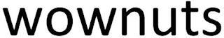 WOWNUTS trademark