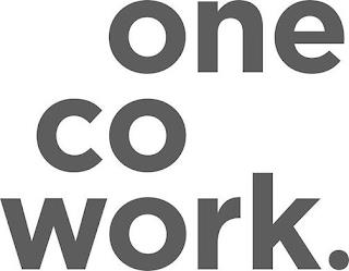ONE CO WORK. trademark