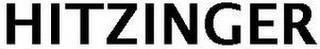 HITZINGER trademark