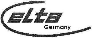 ELTA GERMANY trademark