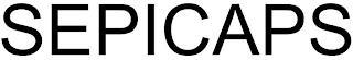 SEPICAPS trademark