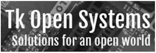 TK OPEN SYSTEMS SOLUTIONS FOR AN OPEN WORLD trademark