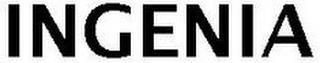 INGENIA trademark