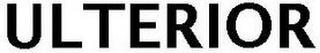 ULTERIOR trademark