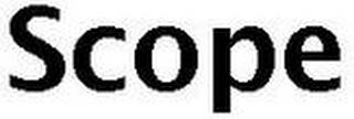 SCOPE trademark