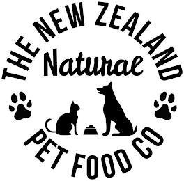 THE NEW ZEALAND NATURAL PET FOOD CO trademark