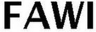 FAWI trademark