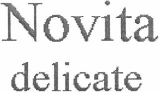 NOVITA DELICATE trademark