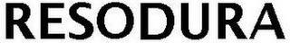 RESODURA trademark