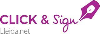 CLICK & SIGN LLEIDA.NET trademark