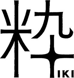 IKI trademark