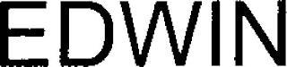 EDWIN trademark