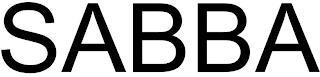 SABBA trademark