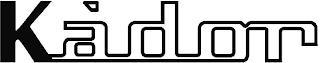 KÀDOR trademark
