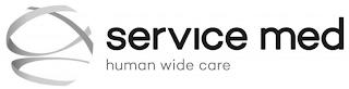 SERVICE MED HUMAN WIDE CARE trademark