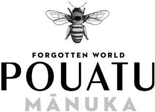 FORGOTTEN WORLD POUATU MANUKA trademark