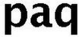 PAQ trademark