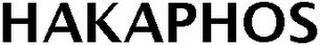 HAKAPHOS trademark
