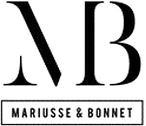 MARIUSSE & BONNET MB trademark