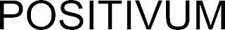 POSITIVUM trademark