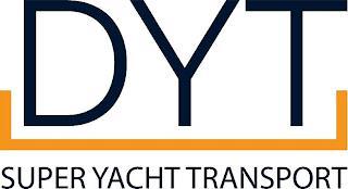 DYT SUPER YACHT TRANSPORT trademark