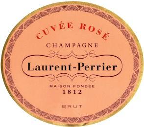 CUVÉE ROSÉ CHAMPAGNE LAURENT-PERRIER MAISON FONDÉE 1812 BRUT trademark
