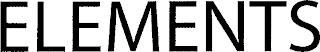 ELEMENTS trademark