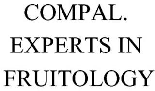 COMPAL. EXPERTS IN FRUITOLOGY trademark
