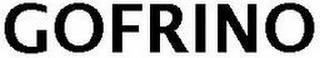 GOFRINO trademark