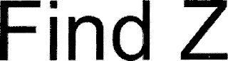 FIND Z trademark