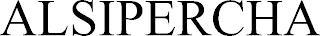 ALSIPERCHA trademark
