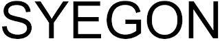 SYEGON trademark