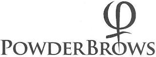 POWDERBROWS trademark